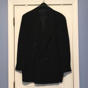 Men's Italian Giorgio Armani Double Breasted Suit